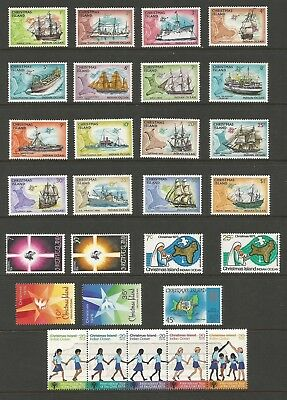 A2/50  SELECTION of CHRISTMAS ISLAND  STAMPS> 1972/3 SHIPS MUH + OTHERS & STRIP