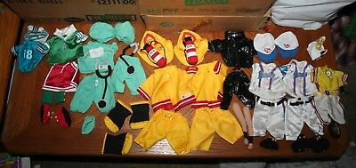 Ty Beanie Babies Kids Gear Clothes Doll Vintage Baseball Doctor Firefighter 8619238b76e
