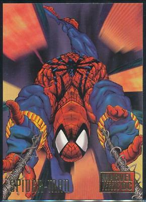 1995 DC Versus Marvel Trading Card #11 Spider-Man