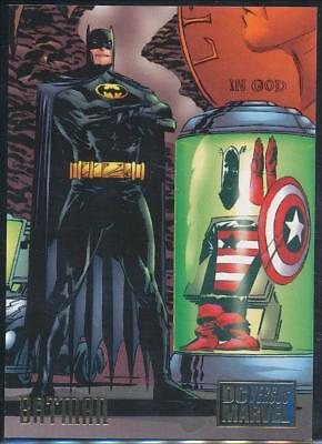 1995 DC Versus Marvel Trading Card #17 Batman