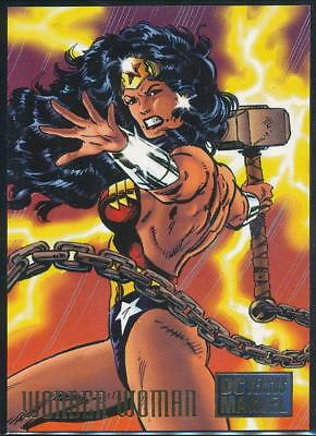 1995 DC Versus Marvel Trading Card #27 Wonder Woman
