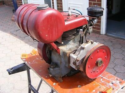 BSA 220CC  Power Unit Stationary Engine in Running Order