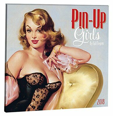 Pin-Up Girls Album 2018 Wall Calendar (New& Sealed)