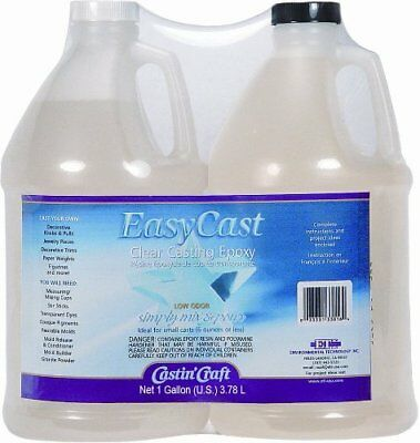 Environmental Technology 128-Ounce Kit Casting' Craft Casting Epoxy, Clear