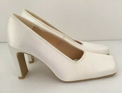 Ladies Size 5 (38) Satin Wedding Court Shoes Weddings With Love