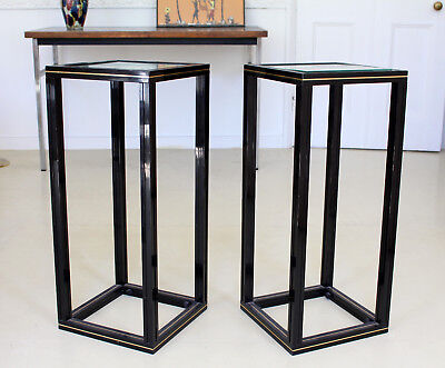Pierre Vandel Pair Side Tables 2 Lamp Tables French