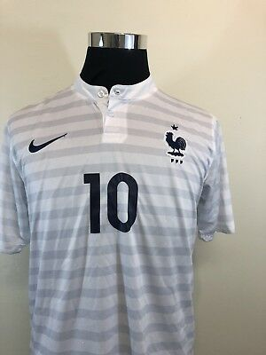 8a47b62ec38 Kylian Mbappe White Away France Kit Jersey SIZE LARGE L 2018 FIFA World Cup