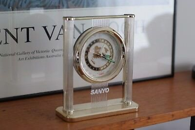 Vintage GMT Clock by Seiko in collaboration with Sanyo, Japan, Retro, Mint Cond.