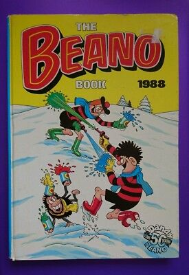 The Beano Book Annual 1988 Vintage Hardback Unclipped