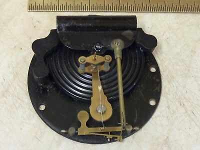 """Good Old 4"""" Aneroid Barometer Movement- Working (C)"""