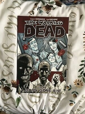 The Walking Dead Comic Volume 1 Days Gone By