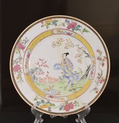 A Top Quality Chinese Kangxi / Yongzheng Plate For Restoration