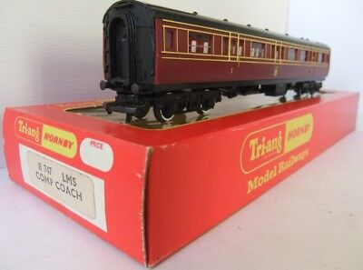 TRI-ANG HORNBY R747 LMS ex Caledonian Composite Coach (Boxed)             [6912]