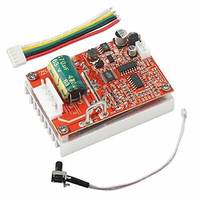 Brushless DC Motor Speed Controller DROK 6-50V Three-phrase Sensorless Control
