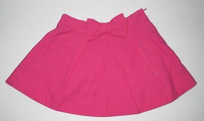 New Nwt Girls Janie And Jack Rosebank Beauty Hot Pink Bow Skirt Size 18-24 Month