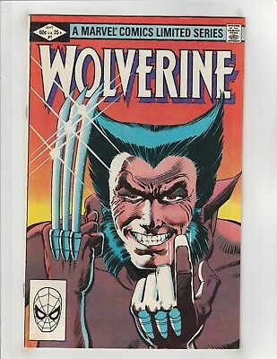 Wolverine (1982) #1 VF 8.0 Marvel Comics Chris Claremont,Frank Miller;Logan