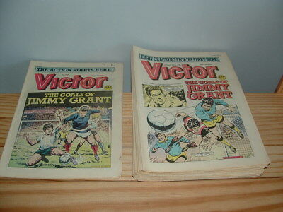 20 Victor Comics From The 1980's