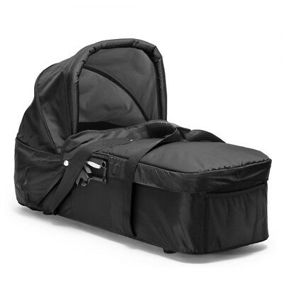 Baby Jogger Compact Carrycot (carry cot) Black including adapters Excellent cond