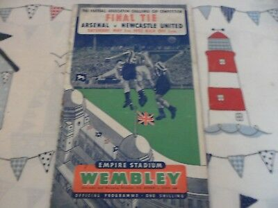 1952 Arsenal V Newcastle United Fa Cup Final