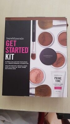 BareMinerals Get Started Complexion 7 Pcs Collection in Dark.