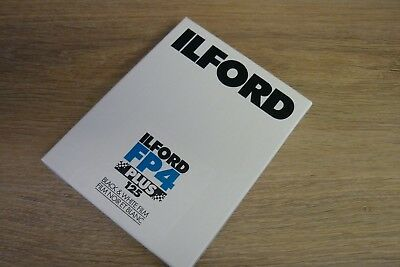 """ILFORD FP4, 5x4"""" FILM, 25 Sheets, Expired, Cold Stored"""