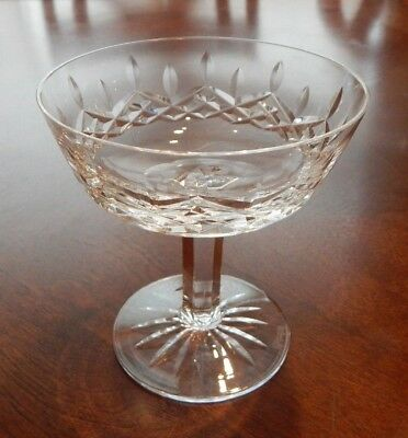 """Waterford Lismore Pattern Champagne/tall Sherbet Glass 4 1/8"""" Tall Excellent!!"""