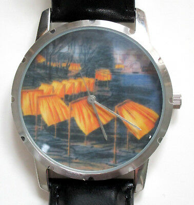 Christo & Jeanne-Claude * The Gates Watch Uhr * Limit. ! Sonderauktion Ab 1€ !