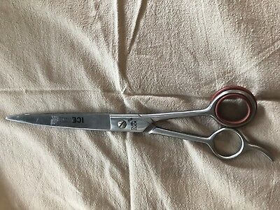Dubl Duck Ice Tempered Fillipino 88 Straight Shears 8.25""