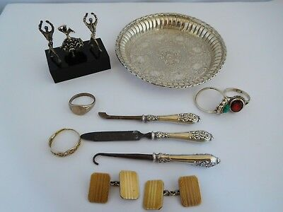 Small Selection Of Vintage / Antique Hallmarked Silver
