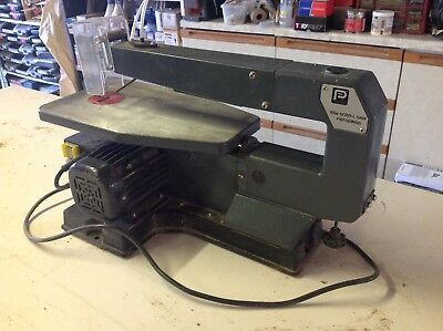 """Performance Power Scroll Saw, 85w, 405mm (16"""") throat, very good condition"""