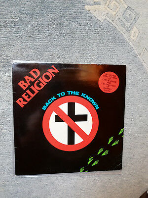 "Bad Religion ""Back to the Known"" LP First-Press"