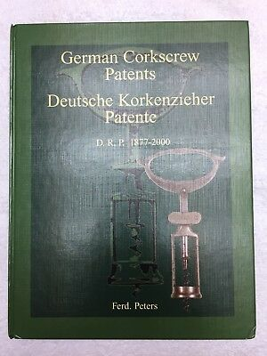 German Corkscrew Patents Book by F. Peters