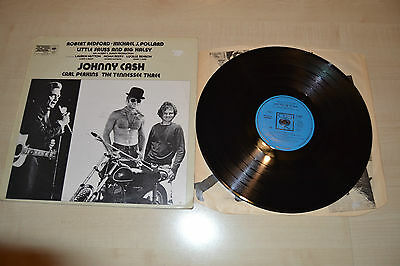 Johnny Cash , Little Fauss And Big Halsy , CBS ,Made In England 1971, Blue Label