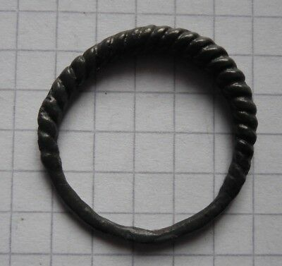 Viking period big size bronze ring