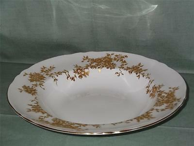 Crown Staffordshire Aristocrat Rimmed Bowl or Soup Plate 8.5""