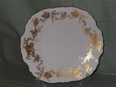Crown Staffordshire Aristocrat Cake Serving Plate Bread & Butter