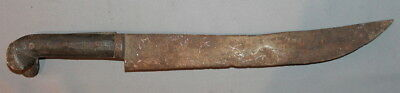 Antique Turkish Islamic Ottoman Hand Made Hunting Bowie Knife