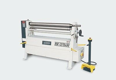 UZMA  Initial pinch power  Bending rollers 1270mm x 90mm 2.5 mm vat inc