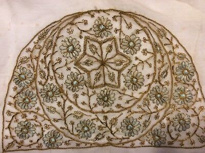 Antique Goldwork and Silk Embroidery