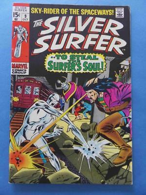 Silver Surfer 9 1970 Supple & Glossy!