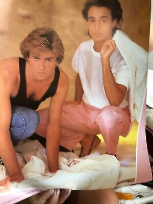 Wham Posters only 3 posters but more in pic I now got all pic that 5 off them