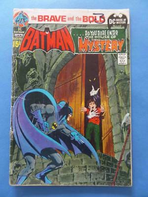 Brave And The Bold 93 1970 Batman House Of Mystery Neal Adams