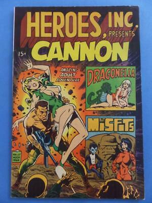 Heroes Inc Presents Cannon Wally Wood Steve Ditko!