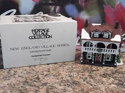 "Dept 56, Heritage Coll., New England Village Series, ""Captains Cottage"""