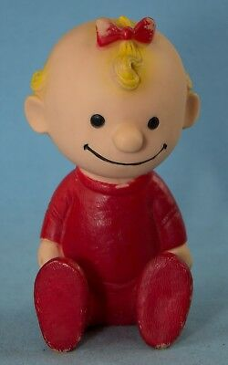 1958 Hungerford Peanuts Baby Sally Squeak Toy United Feature Syndicate