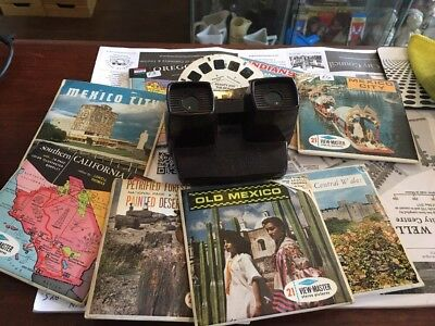 1950s Viewmaster With Slides Bakelite