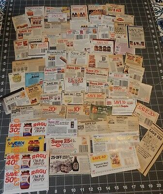 Vintage Lot Of 70 Food/pantry (Ned) No Expiration Date Coupons - No Duplicates