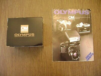 Olympus OM System Winder 2 + Promo (for Electronic Flash T32 + Winder 2)