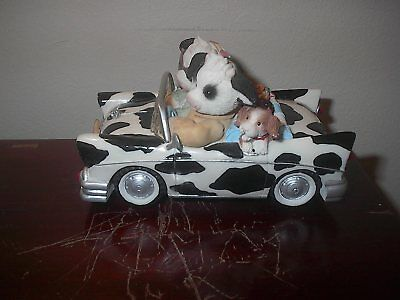 2001 Enesco Mary's Moo Moos I've Got Moo In The Front Seat Of My Heart