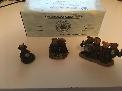 Rare BOYDS Bears CHAPEL IN THE WOODS ACC. SET # 2 19503-2